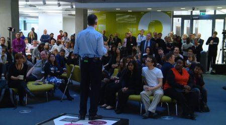 live staff presentation